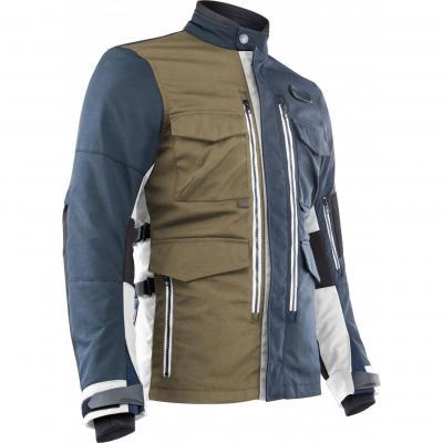 Blouson textile Acerbis Ottano Adventuring bleu/vert