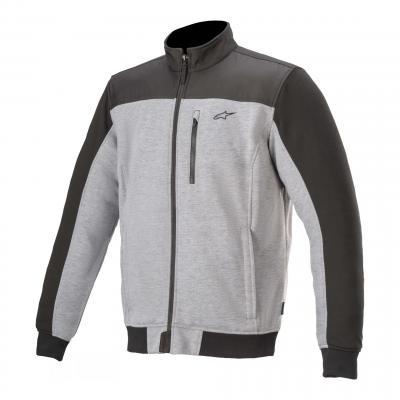 Blouson textile Alpinestars Café Track gris/noir