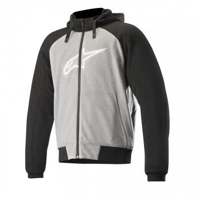 Blouson textile Alpinestars Chrome Sport gris/noir