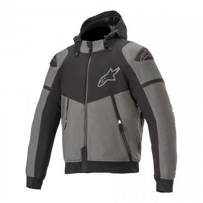 Blouson textile Alpinestars Sektor V2 gris foncé/noir