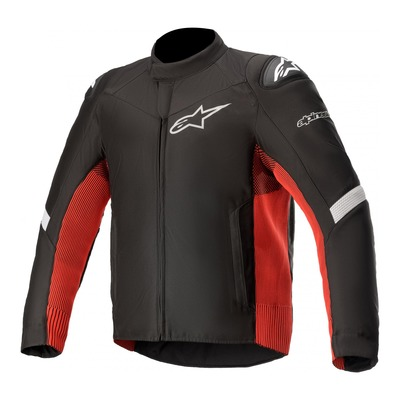 Blouson textile Alpinestars T-SP-5 Rideknit noir/bright rouge