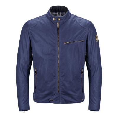 Blouson textile Belstaff ARIEL bleu marine