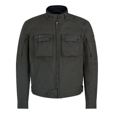 Blouson textile Belstaff Greenstreet military vert
