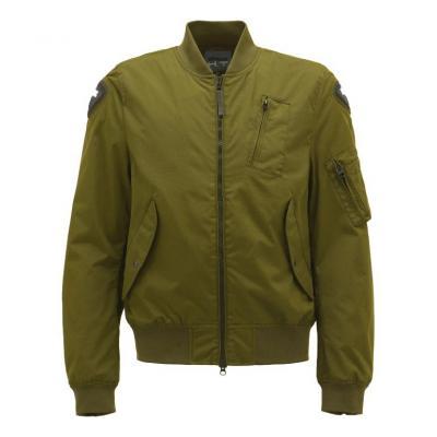 Blouson textile Blauer Maverick bombers vert
