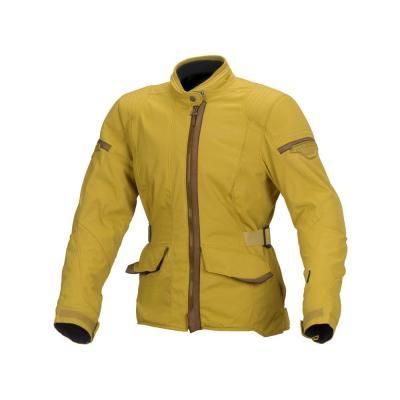 Blouson textile femme Macna Shine jaune