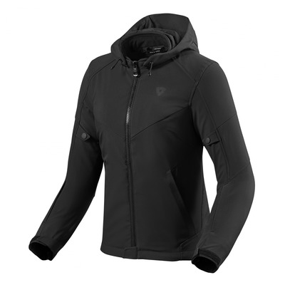 Blouson textile femme Rev'it Afterburn H2O noir