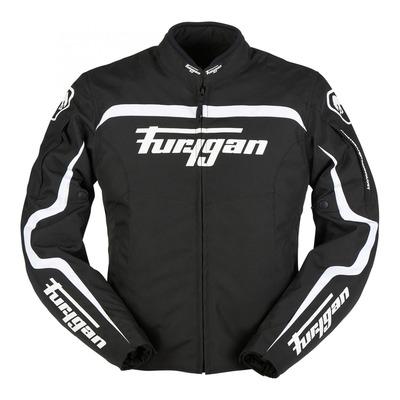 Blouson textile Furygan Diablo noir/blanc