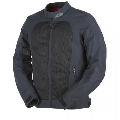 Blouson textile Furygan Genesis Mistral Evo 2 noir/bleu