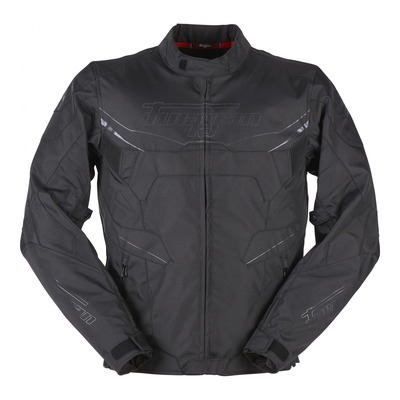 Blouson textile Furygan Korben noir (compatible airbag Furygan)