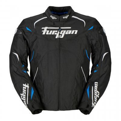 Blouson textile Furygan Narval noir/blanc/bleu