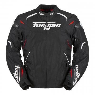 Blouson textile Furygan Narval noir/blanc/rouge