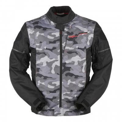 Blouson textile Furygan Riley noir/camo