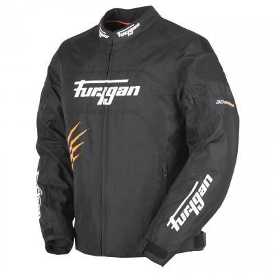 Blouson textile Furygan Rock noir/orange