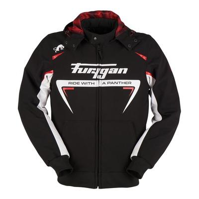 Blouson textile Furygan Sektor Roadster noir/blanc/rouge