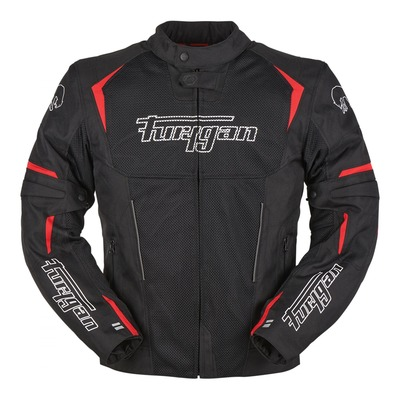 Blouson textile Furygan Ultraspark 3en1 noir/rouge