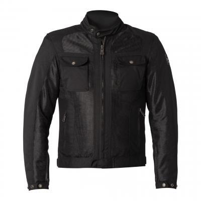 Blouson textile Helstons Collins Mesh noir