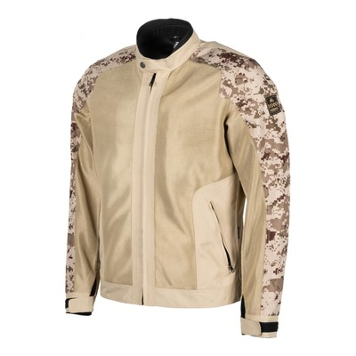 Blouson textile Helstons Stoner mesh beige/camouflage