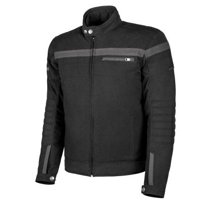 Blouson textile Hevik Blackjack noir/gris