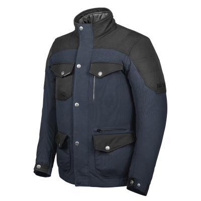 Blouson textile Hevik Portland Evo bleu