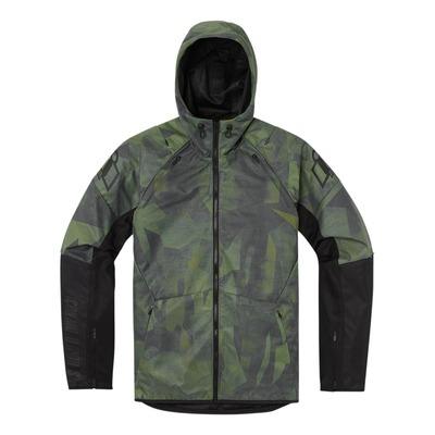 Blouson textile Icon Airform Battlescar camouflage