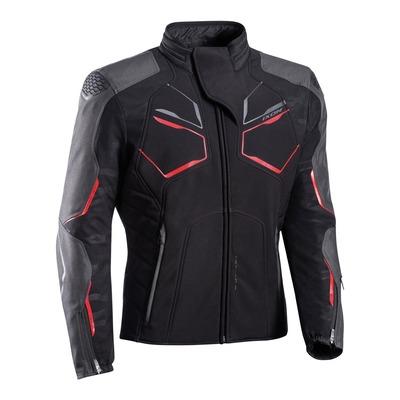 Blouson textile Ixon Cell noir/gris/rouge