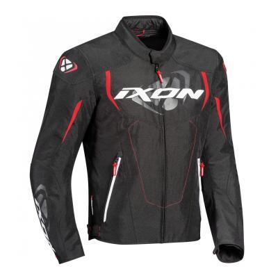 Blouson textile Ixon Cobra noir/rouge