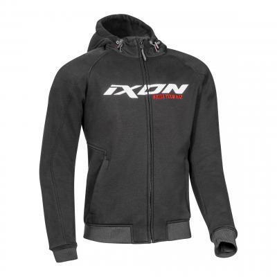 Blouson textile Ixon Palermo noir/blanc/rouge