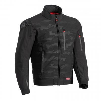 Blouson textile Ixon Soho noir/camo