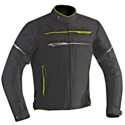 Blouson textile Ixon ZETEC HP noir/jaune vif