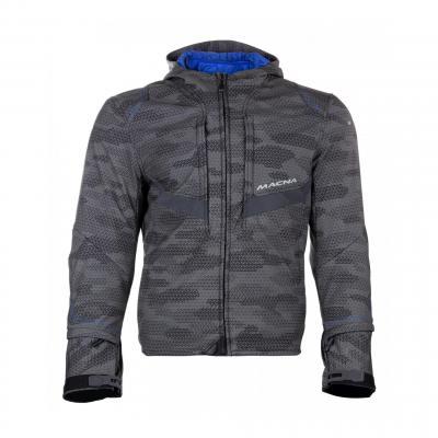 Blouson textile Macna Habitat gris camo