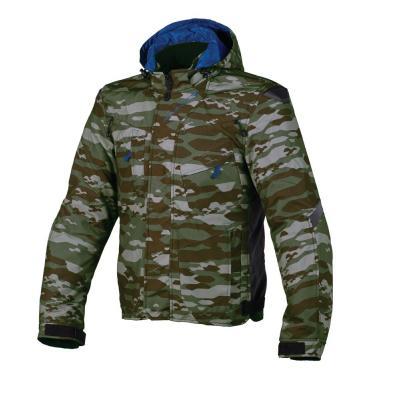 Blouson textile Macna Redox jungle camo