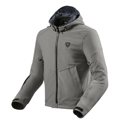 Blouson textile Rev'it Afterburn H2O gris