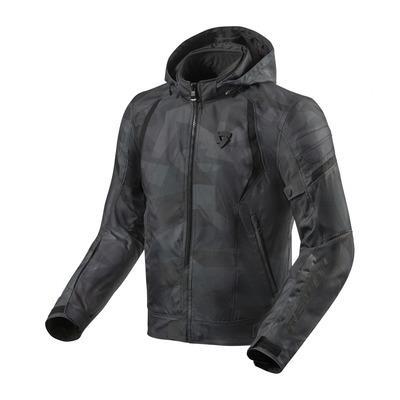 Blouson textile Rev'it Flare 2 camouflage noir/gris