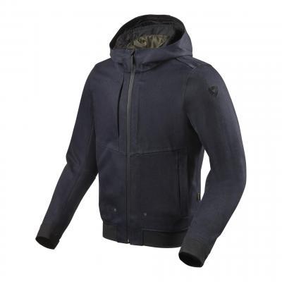 Blouson textile Rev'it Stealth 2 bleu foncé