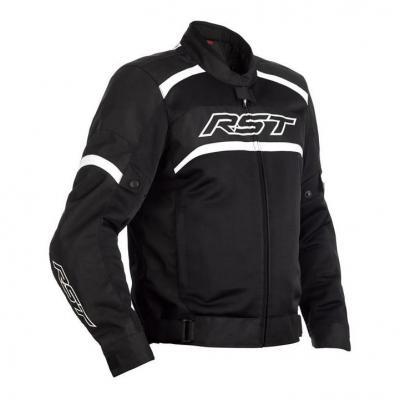 Blouson textile RST Pilot Air noir/blanc