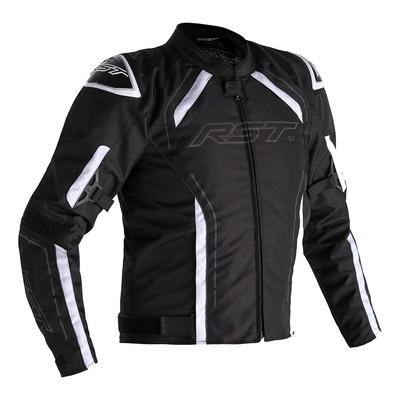 Blouson textile RST S-1 noir/blanc
