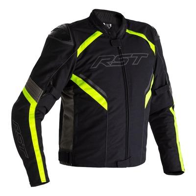 Blouson textile RST Sabre Airbag noir/gris/jaune fluo