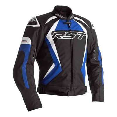 Blouson textile RST Tractech Evo 4 noir/bleu/blanc