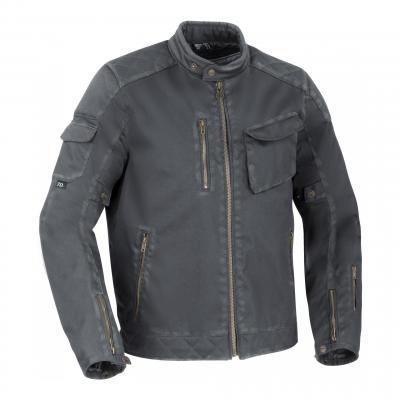 Blouson textile Segura Cannon gris