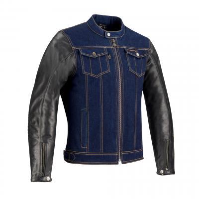 Blouson textile Segura Gordon noir/bleu
