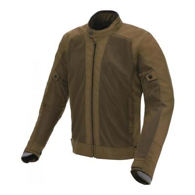 Blouson textile Tucano Urbano Network 2G vert militaire