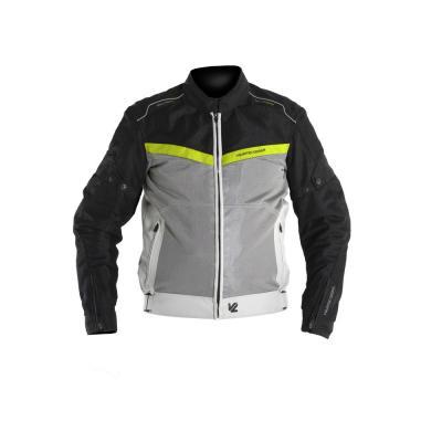 Blouson textile V'Quattro VE-51 noir/gris/jaune