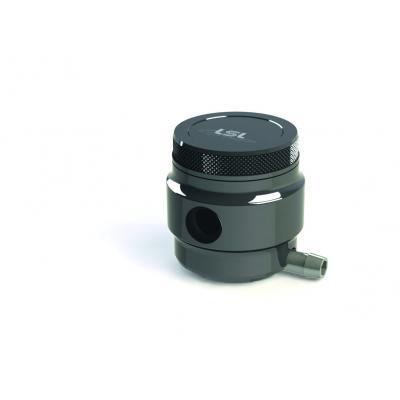 Bocal de liquide de frein 36ml LSL aluminium taillé dans la masse noir