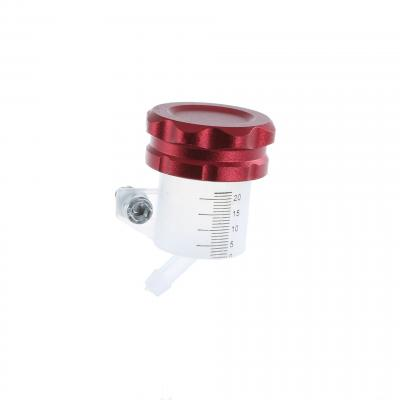 Bocal maître cylindre de frein 1Tek Tuning universel bouchon alu rouge