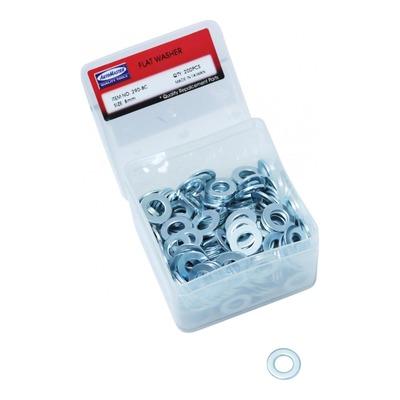 Boite de 200 rondelles plate acier Ø 8mm