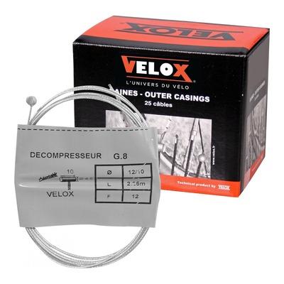 Boîte de 25 câbles de décompresseur Velox G.8 5x6mm Ø 12/10 2,25m