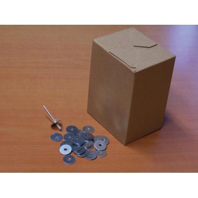 Boîte de 500 rondelles 4x20