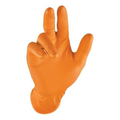 Boîte de gants Brazoline taille XL orange