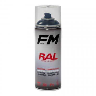 Bombe de peinture FM Spray Pro noir brillant 400ml