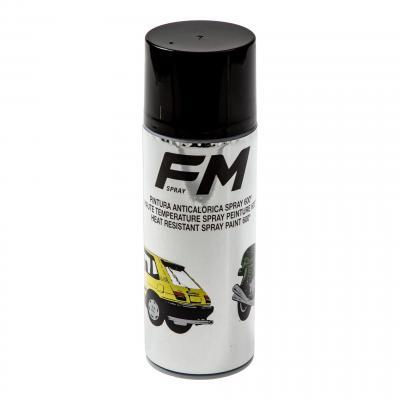 Bombe de peinture noire haute température FM Spray 600°C 400ml